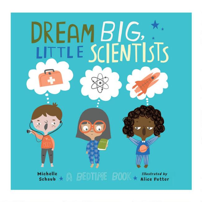 Dream Big Little Scientists Book