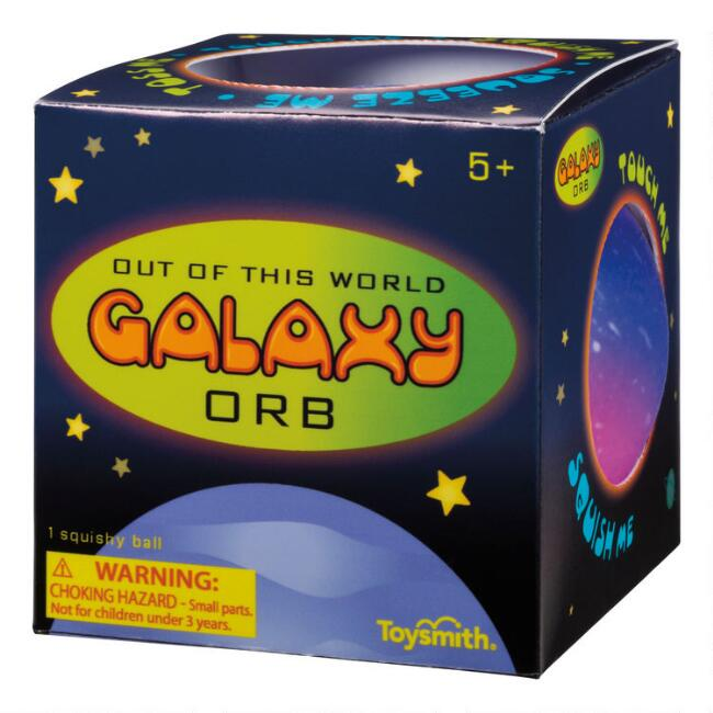 Toysmith Galaxy Orb Squishy Ball
