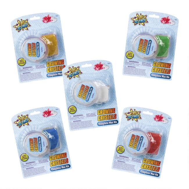 Toy Science Growing Crystal Science Toy Set of 5