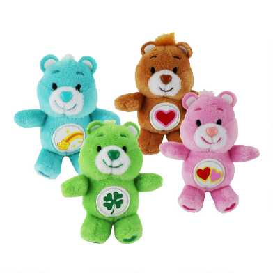 World's Smallest Care Bears Set of 4