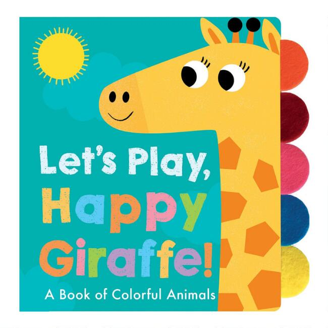 Let's Play Happy Giraffe Book