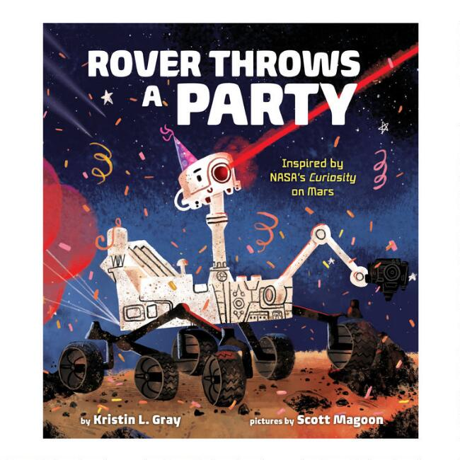 Rover Throws A Birthday Party Book