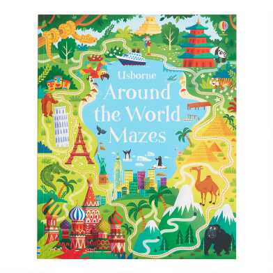 Usborne Around The World Mazes Activity Book