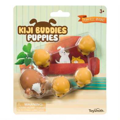 Kiji Buddies Squishy Puppies