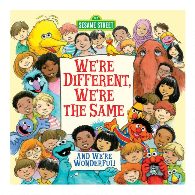 Sesame Street We're Different We're The Same Book