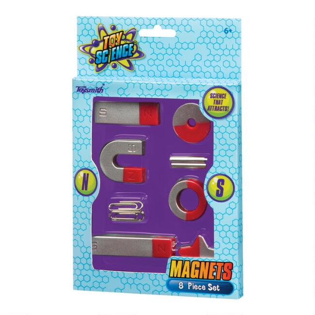 8 Piece Toy Science Magnets Set of 2