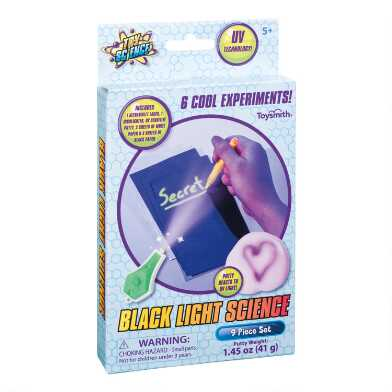 Toy Science Black Light Science Kit Set of 2