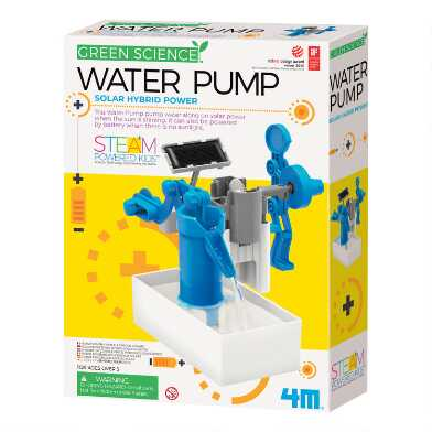 4M Green Science Water Pump Science Kit