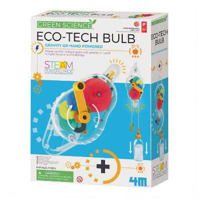 4M Green Science Eco Tech Gravity Powered Bulb Science Kit