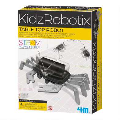 4M KidzRobotix Tabletop Robot Crab Science Kit