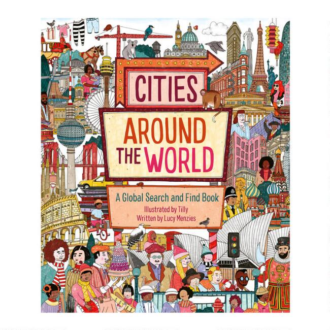 Cities Around The World Seek And Find Book