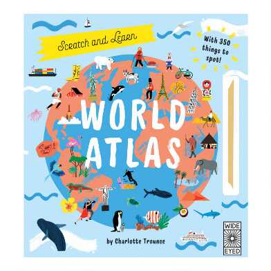 Scratch Off Atlas Activity Book