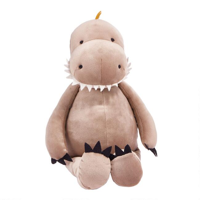 Bunnies By The Bay Pillowy Plush Stuffed Dinosaur