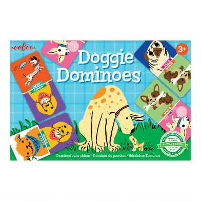 EeBoo Doggie Dominoes
