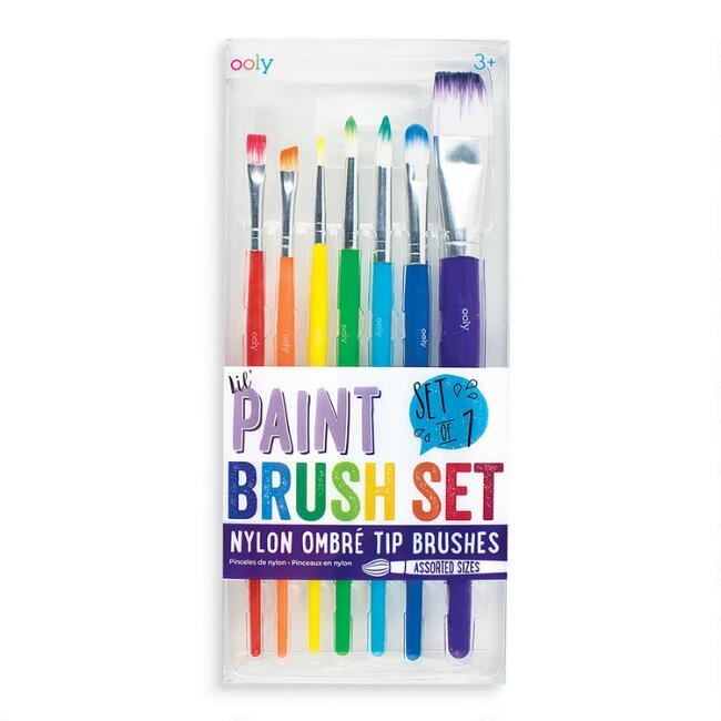 Ooly Paint Brush Set 7 Pack