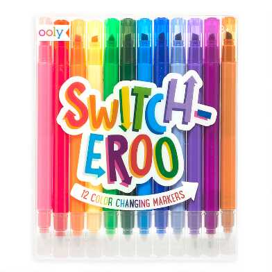 Ooly Switch-eroo Color Changing Markers 12 Pack
