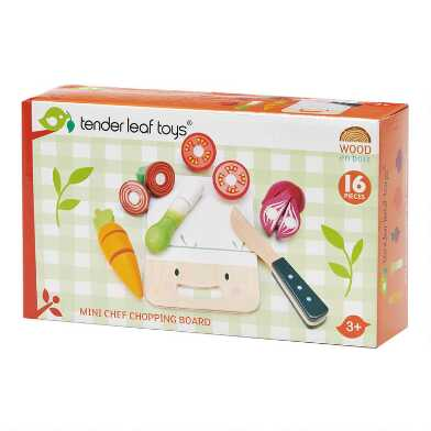 Tender Leaf Toys Mini Chef Chopping Board Play Set