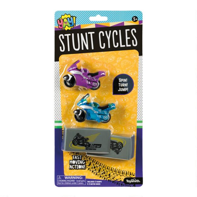 2 Pack Toysmith Stunt Cycles