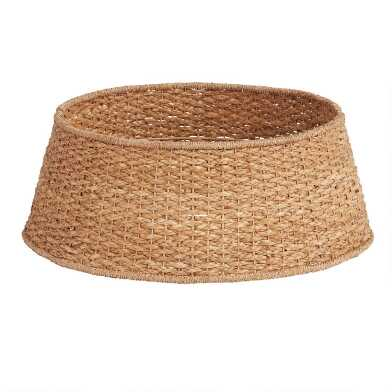 Natural Woven Tree Collar