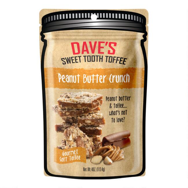 Dave's Sweet Tooth Peanut Butter Crunch Toffee