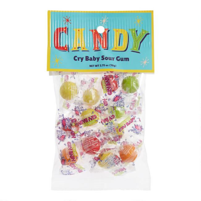 Old Fashioned Crybaby Sour Gumball Bag