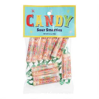 Old Fashioned Sour Smarties Bag