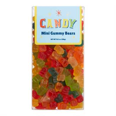Old Fashioned Mini Gummy Bears Box