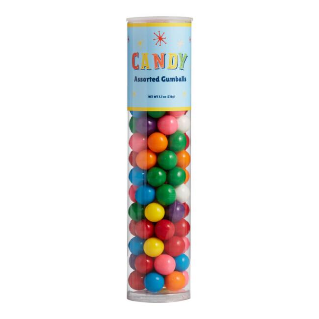 Old Fashioned Assorted Gumballs Tube