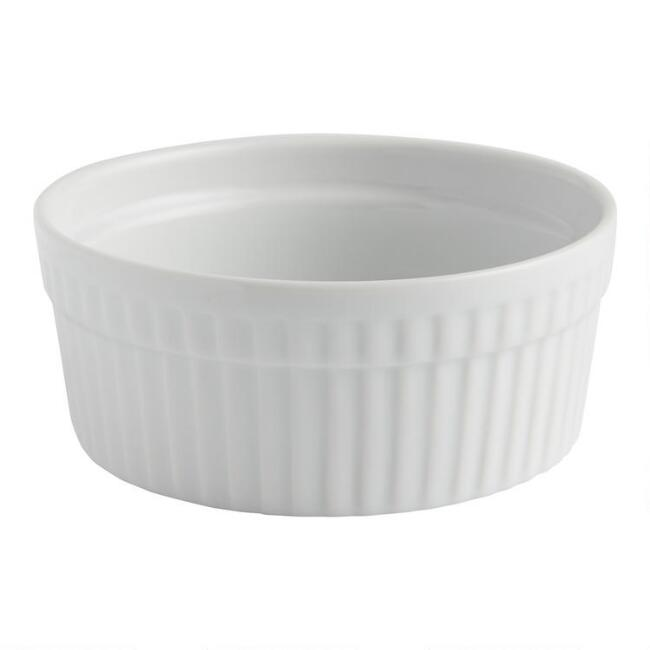 White 9.5-oz. Ramekin, Set of 4