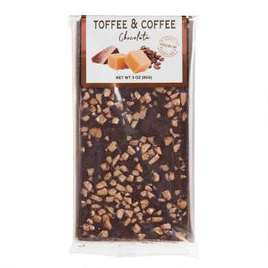 Toffee And Coffee 70% Dark Chocolate Bar