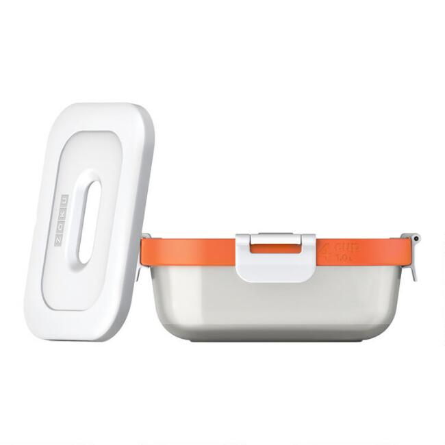 Zoku Neat Stack Lunch Storage Container 3 Piece Set