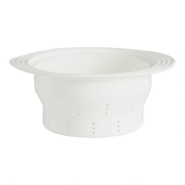 SiliconeZone Collapsible Pasta Insert and Colander