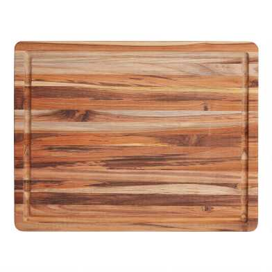 Large TeakHaus Trencher Cutting Board