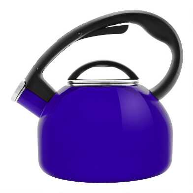 Chantal Cobalt Blue Enamel Carbon Steel Tea Kettle