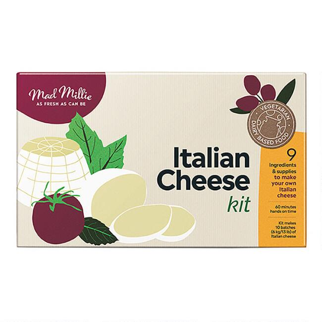 Mad Millie Fresh Italian Cheese Kit
