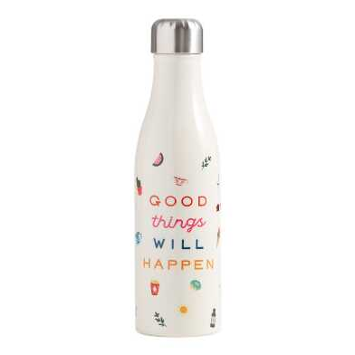 Studio Oh Good Things Insulated Stainless Steel Water Bottle