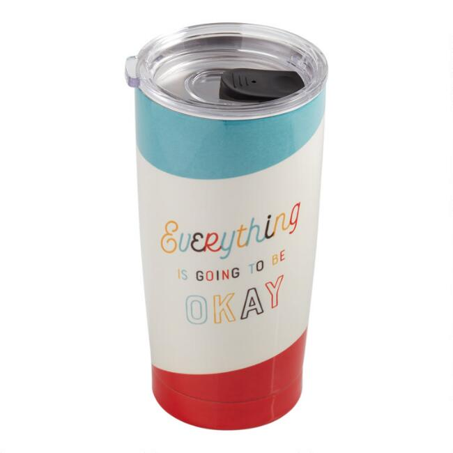 Studio Oh Everything Okay Insulated Stainless Steel Tumbler