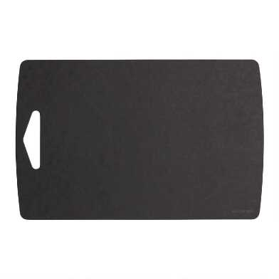 10x16 Epicurean Black Reversible Cutting Board