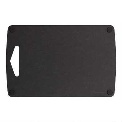 8.5x13 Epicurean Black Nonslip Reversible Cutting Board