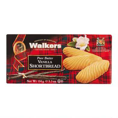 Walkers Vanilla Shortbread Fingers Box