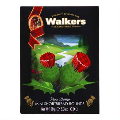Walkers Mini Shortbread Rounds Box