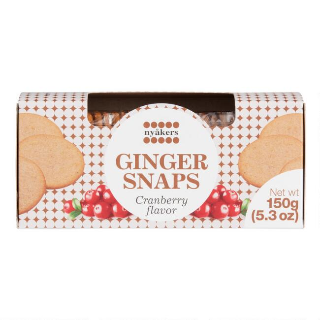 Nyakers Cranberry Gingersnaps Box
