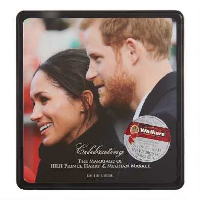 Walkers Assorted Shortbread Harry And Meghan Tin
