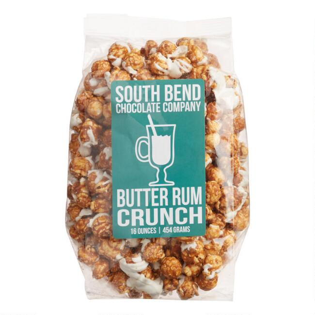 South Bend Chocolate Company Butter Rum Crunch Popcorn
