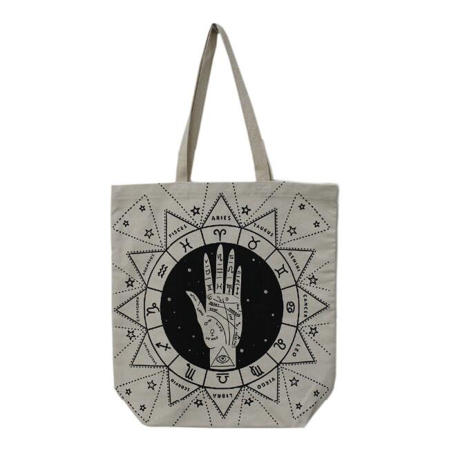 Palmistry Canvas Tote Bag