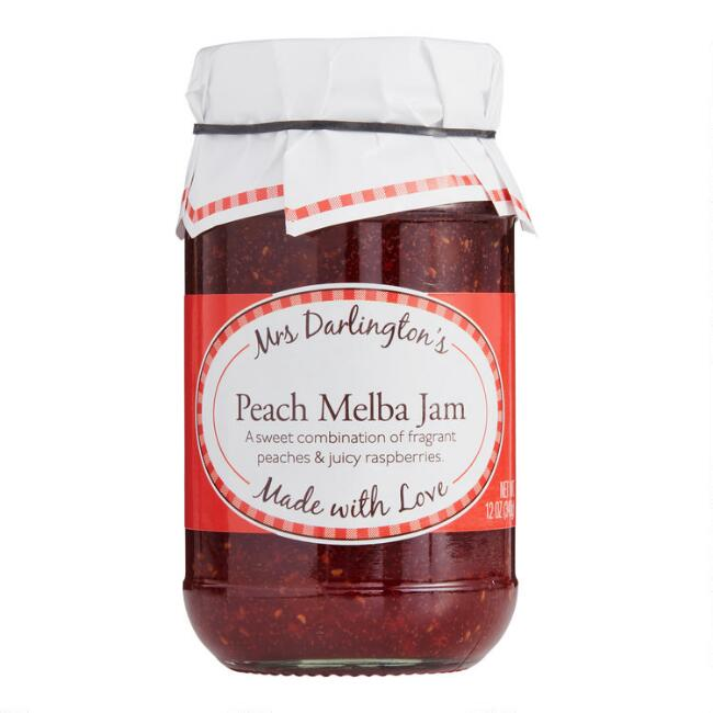 Mrs Darlington's Peach Melba Jam