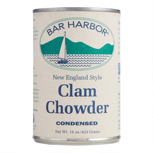 Bar Harbor New England Style Clam Chowder Set of 2