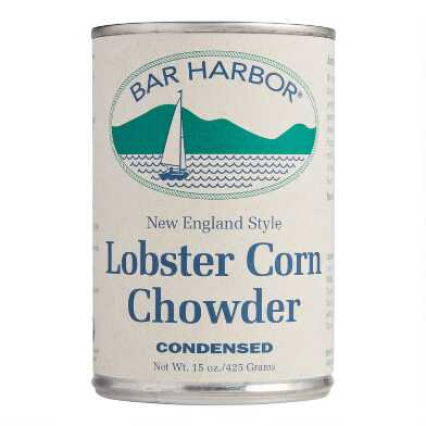 Bar Harbor New England Style Lobster Corn Chowder Set of 2