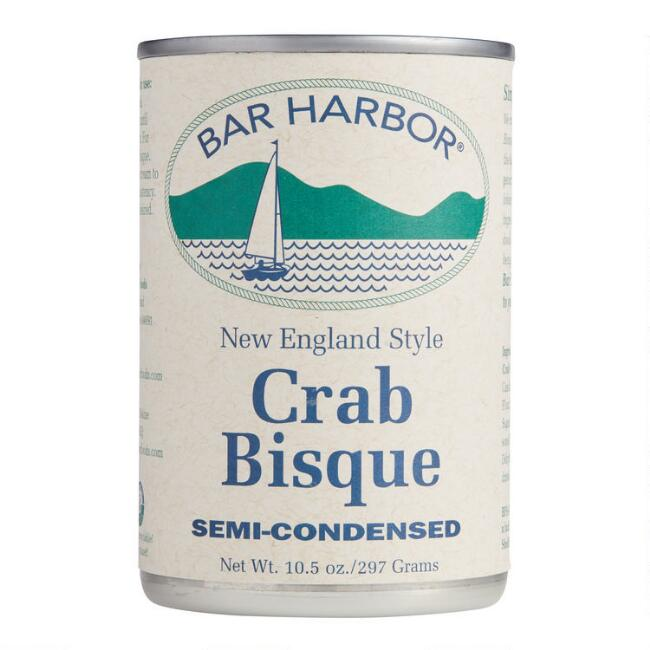 Bar Harbor New England Style Crab Bisque Set of 2