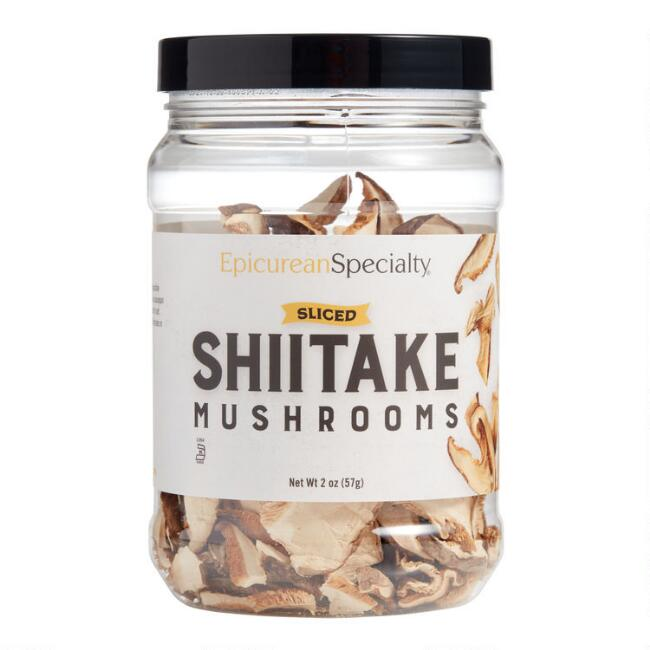 Epicurean Specialty Sliced Shiitake Dried Mushrooms